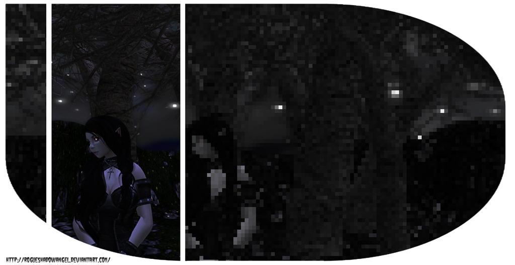 Nighttime Reflection by RogueShadowAngel