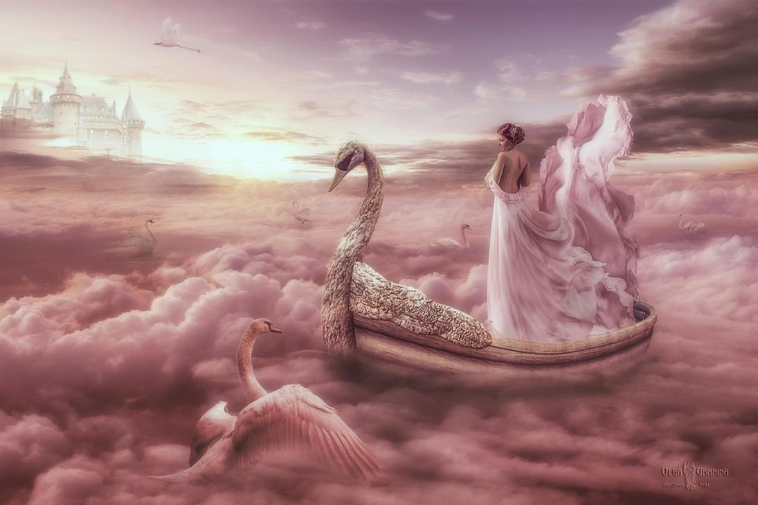 Swan lake. by AIvett