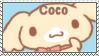 (READ DESCRIPTION) Sanrio/Cinnamoroll Coco stamp by Bubble-Bash