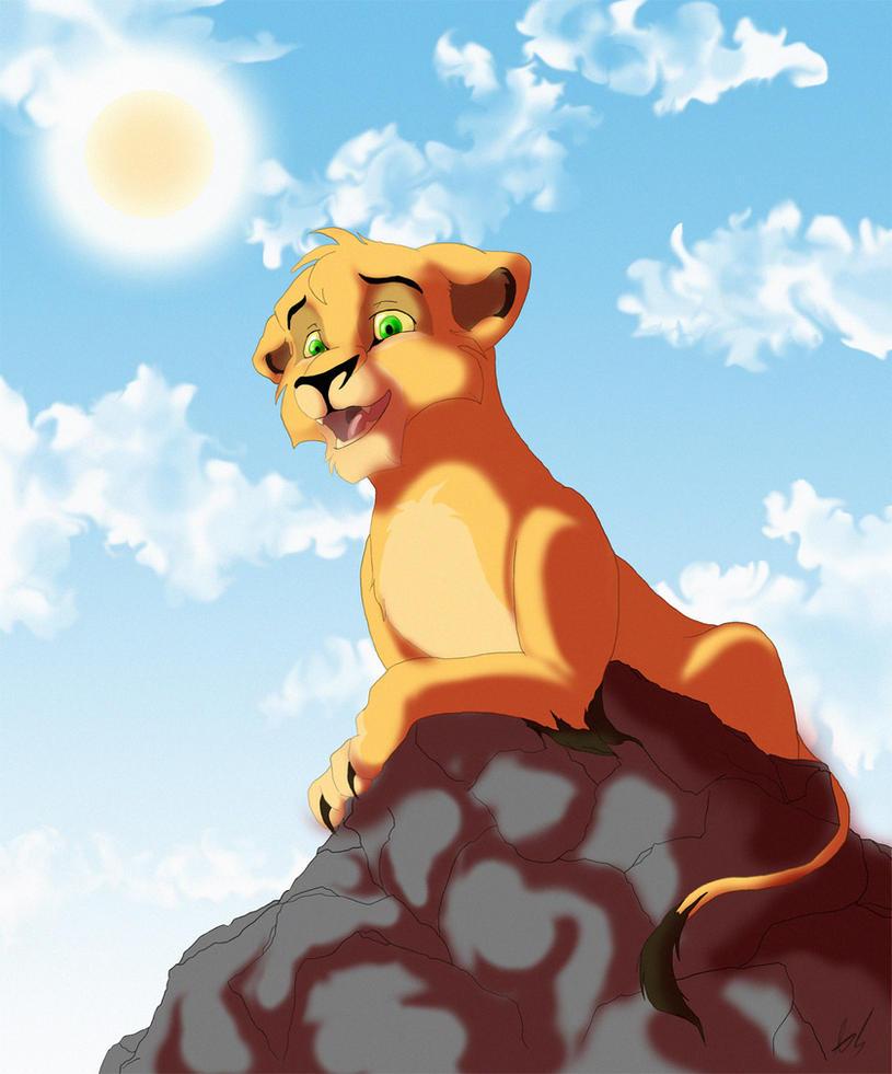 lion king ahadi and mufasa