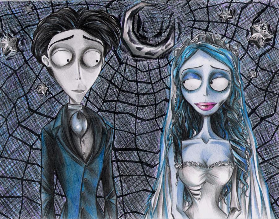 Tim Burton's Corpse Bride by Noranaru on DeviantArt