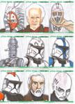Clone Wars sketch cards 5