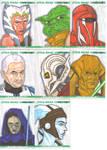 Clone Wars sketch cards 6