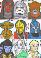 Star Wars Galaxy 4 batch 5 by NORVANDELL