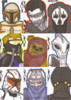 Star Wars Galaxy 4 batch 7 by NORVANDELL