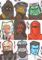 Star Wars Galaxy 4 batch 8 by NORVANDELL