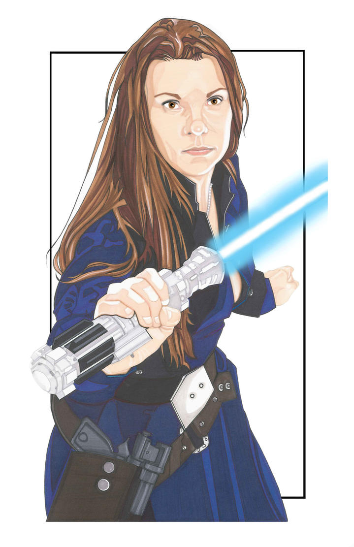 Taryn from Star Wars Revelations by NORVANDELL