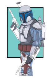 Jango Fett by NORVANDELL