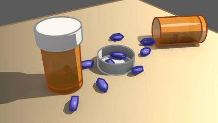 Blender Freestyle Pills by miggyb89