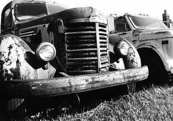 old trucks by idksr18