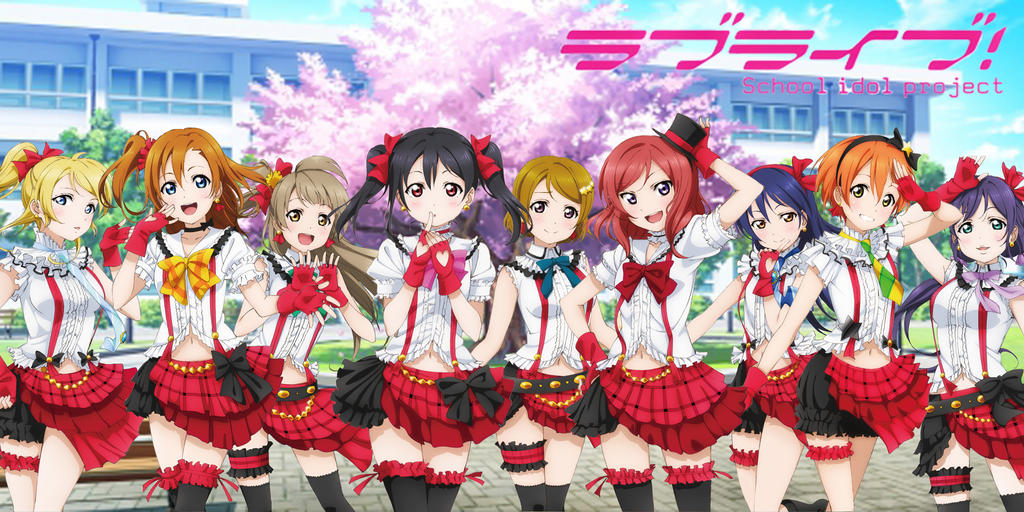 Love Live School Idol Project Wallpaper By Brsyhhq1207 On