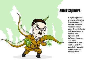 Adolf Squidler by Adolf-The-Painter