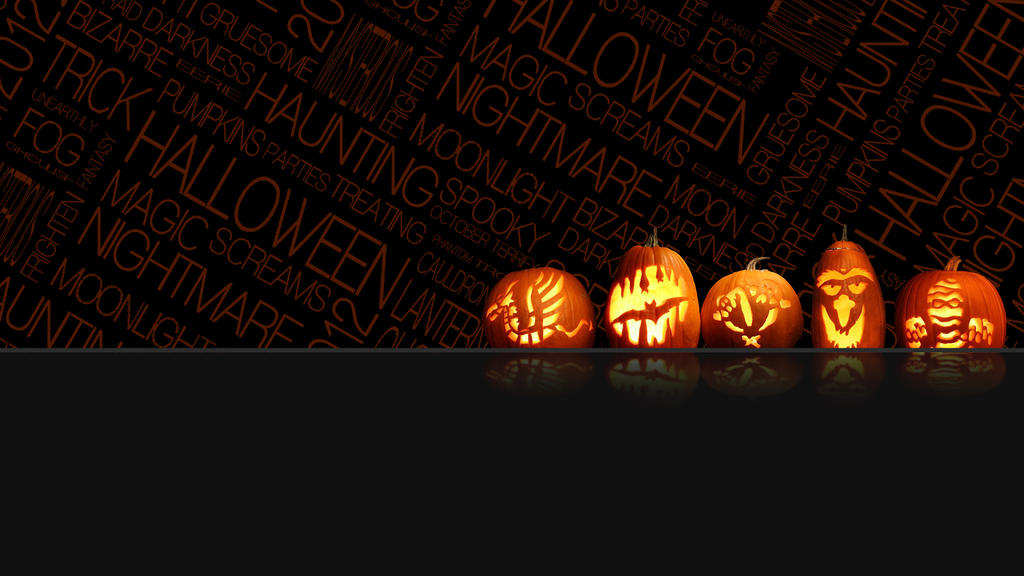 Halloween Wallpaper 2012 (1920x1080) by B1itzsturm