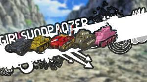 Girls Und Panzer : Wallpaper