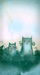 Aguas de Miau by chibizumi