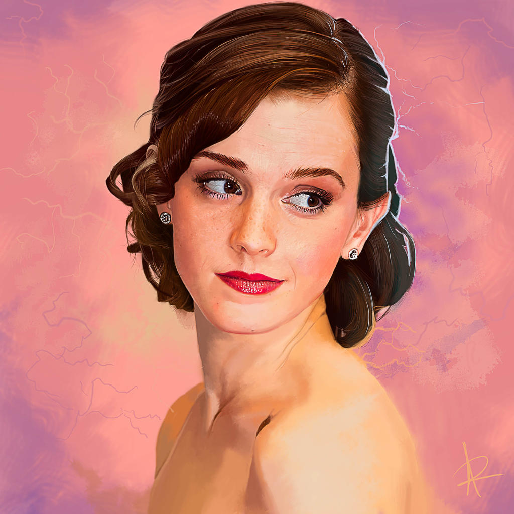 That Emma Watson fingered fanart