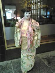 Geisha costume for halloween party