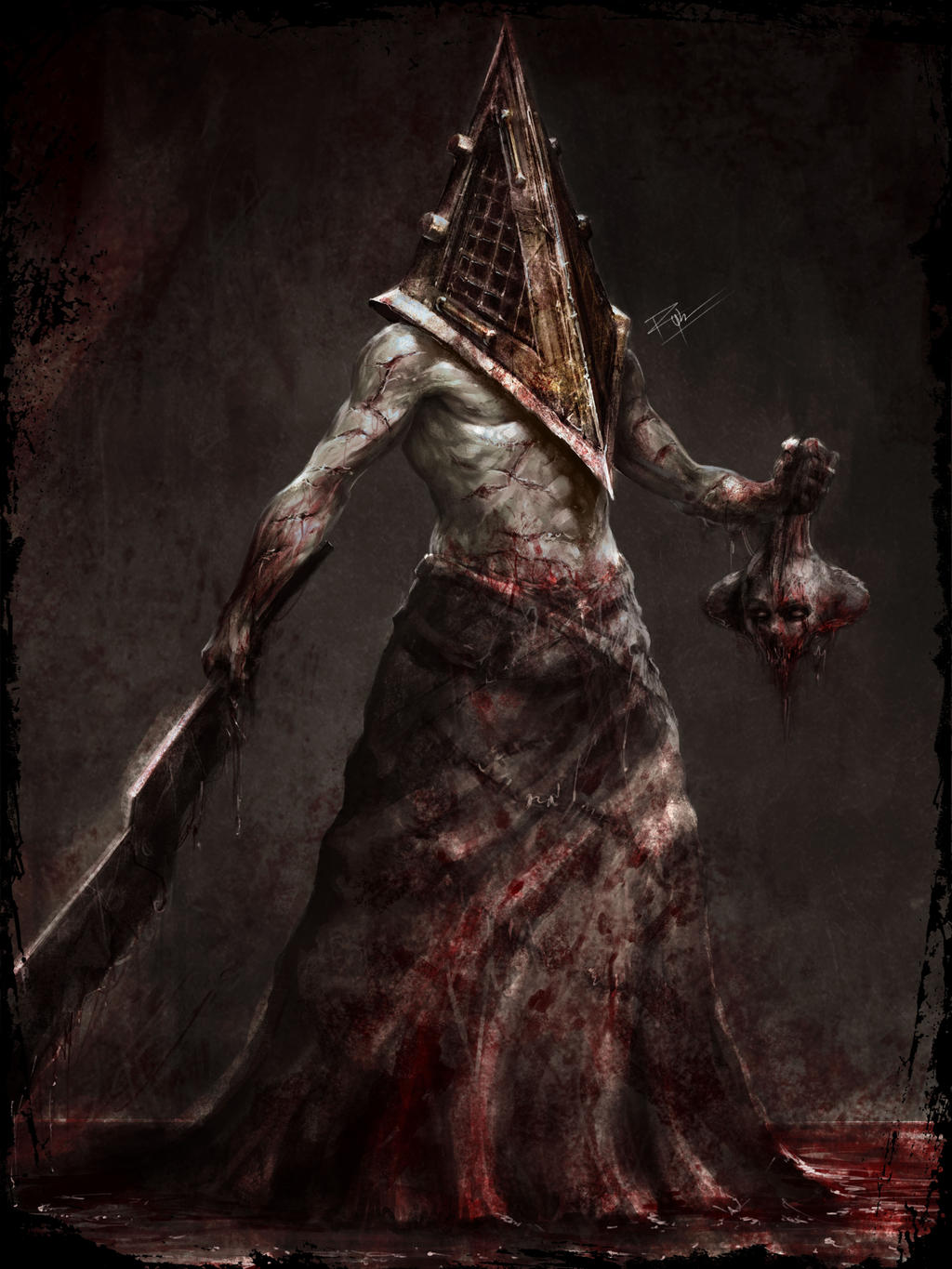 head Silent hill nude pyramid