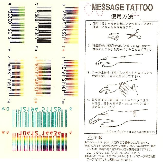 Barcode Tattoos by ~Whit3Fir3 on deviantART