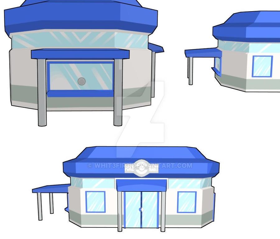 Pokemon Mart Images