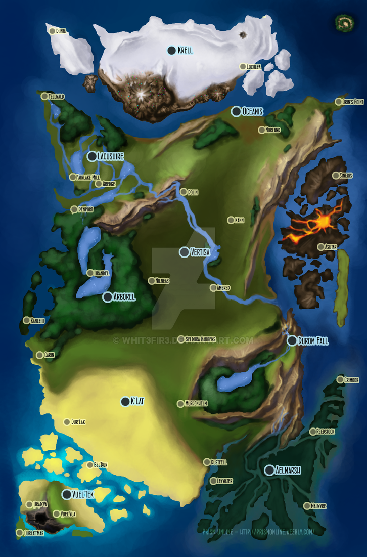Prism Map by Whit3Fir3