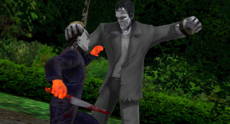 Myers vs The Monster