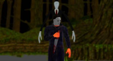 Halloween with Slenderman