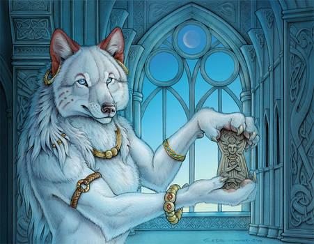 Werewolf Calendar 2009 - Jan by synnabar