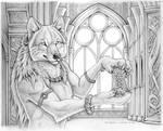 Werewolf Calendar - Pencils