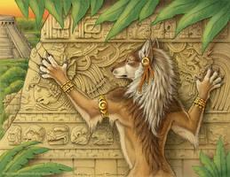 Werewolf Calendar 2010 - July by synnabar