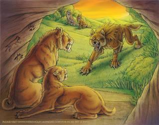 Werewolf Calendar 2011 - June by synnabar
