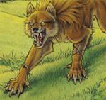 Werewolf Calendar 2011 Detail