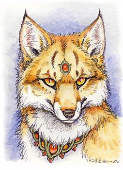 ACEO - More Fox Magic (Foxfire)