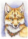 ACEO - More Fox Magic (Foxfire) by synnabar