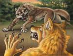 Werewolf Calendar 2014 by synnabar