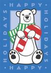 Happy Holidays Polar Bear by synnabar
