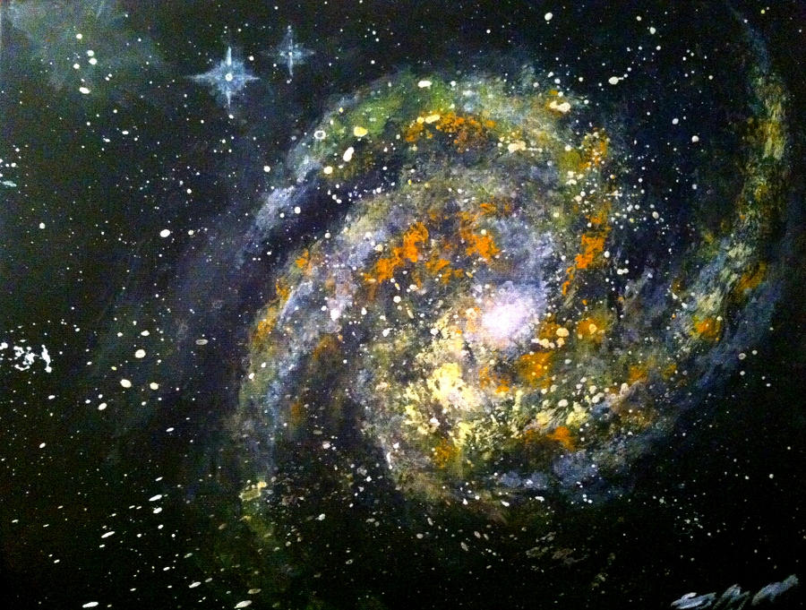 Obscure Inferno Galaxy by Defiant2Death