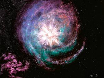 Supernova Nebula by Defiant2Death