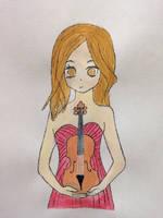 Sumina Lydia (violinist)  by leai2art