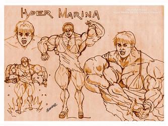 Crossover: Hyper Marina by allegend