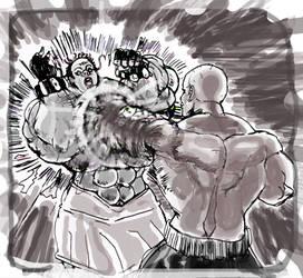 El Dueno Vs Feno1: Guard Crush by allegend