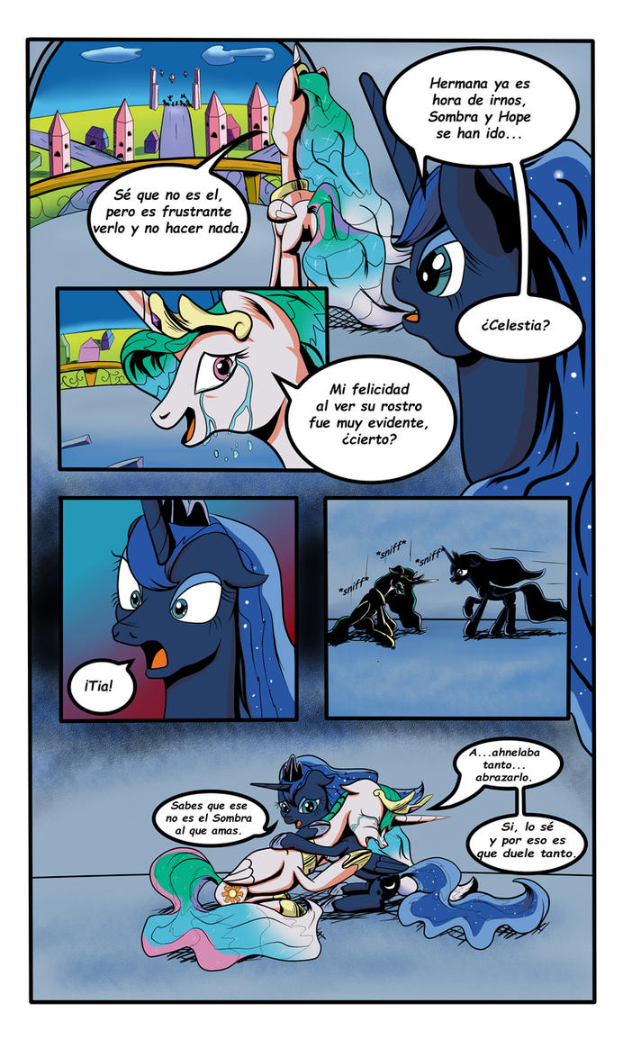 El Anhelo de Celestia pag 1 (Spanish) by Astroanimations
