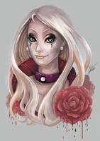 Bloody Rose by ARTdesk