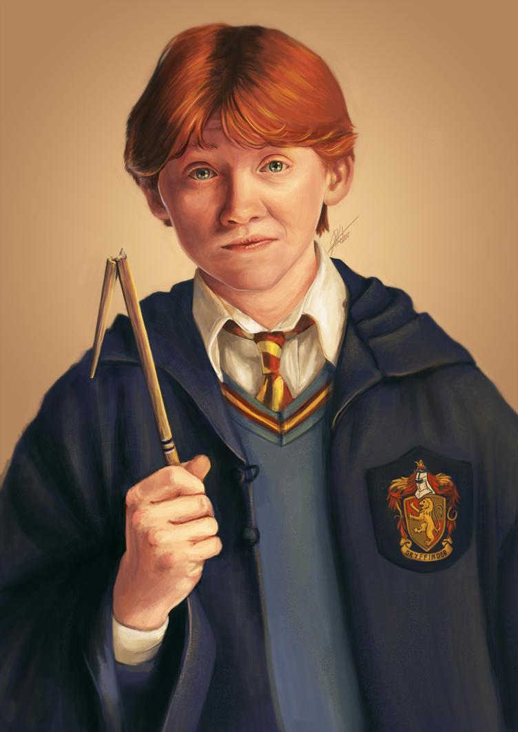 Ron Weasley by ARTdesk