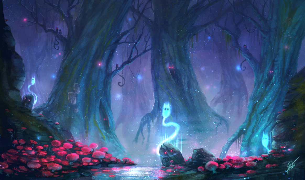 enchanted fairy forest - 1164×687