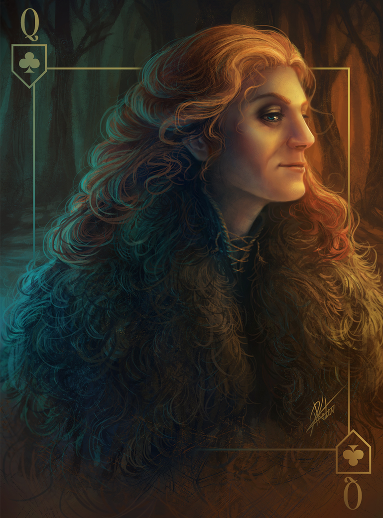 Catelyn Stark - THE CARDS OF ICE AND FIRE by ARTdesk