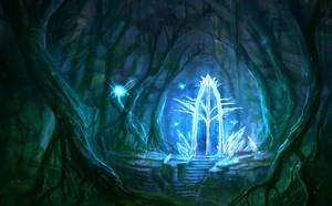 Sketch Crystal Gate by ARTdesk