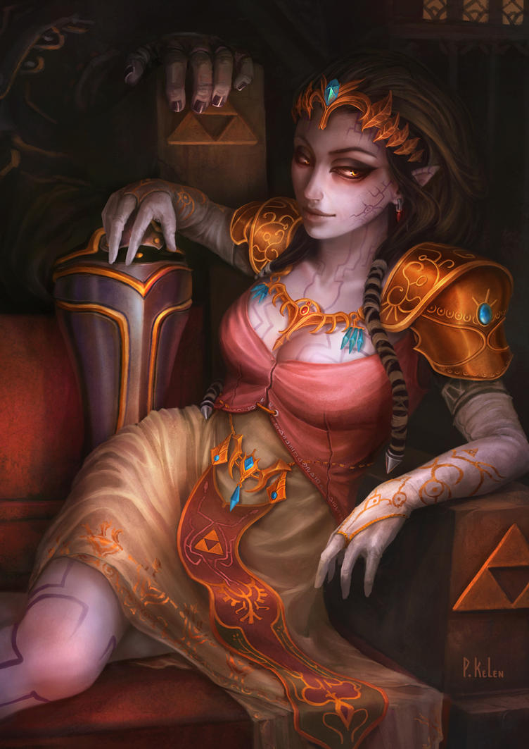 Possessed Zelda - Twilight Princess by ARTdesk