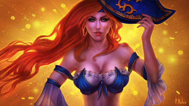 Miss Fortune - League of Legends Fanart by ARTdesk