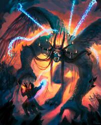 The Imprisoned Demon by ARTdesk